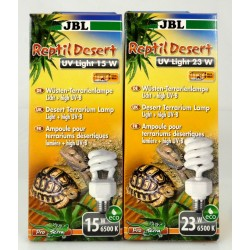 JBL Reptil Desert UV Light Wüsten-Terrarienlampe Licht + high UV-B