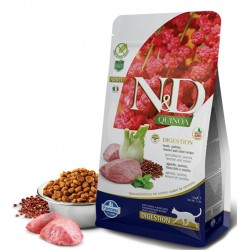 N&D Adult Cat Digestion Quinoa Lamm Natural & Delicious Cat Farmina Trockenfutter