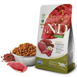N&D Adult Cat Urinary Quinoa Ente Natural & Delicious Cat Farmina Trockenfutter