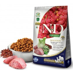 N&D Adult Dog Quinoa Digestion Lamm, Quinoa, Fenchel + Artischocke Natural & Delicious Farmina
