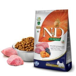 N&D Adult Dog Pumpkin Mini Lammfleisch, Kürbis + Heidelbeere Natural & Delicious Farmina