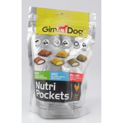 Gim Dog Nutri Pockets Mix 150 g