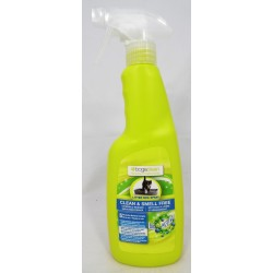 Bogaclean Clean & Smell Free Litter Box Spray Katzenklo-Reiniger Geruchsentferner 500 ml