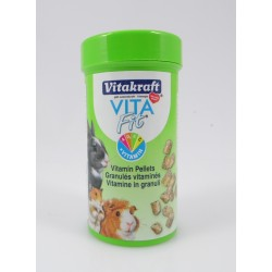 Vita Fit Vitamin Pellets für Nager Vitakraft 80 g