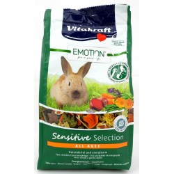 Emotion Sensitive Selection All Ages Zwergkaninchen Hauptfutter Vitakraft 600 g