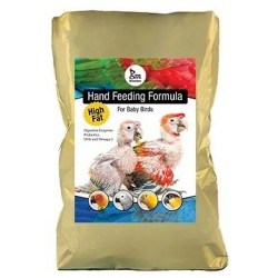 GM Breeders High Fat Hand Feeding for Baby Birds Handaufzuchtfutter für Aras, Graupapageien usw 2 kg