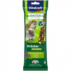 Emotion Kräcker herbal Thymian + Brennnessel Kleinnager Nager-Kräcker Vitakraft 3 er 75 g